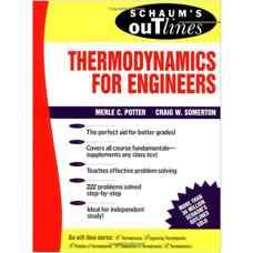 ترمودینامیک برای مهندسین - از مجموعه Schaum's Outline (پاتر و سامرتون) (ویرایش اول 1993)