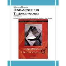 حل المسائل اصول ترمودینامیک (سونتاگ، بورگناک و ون وایلن) (ویرایش ششم 2002)