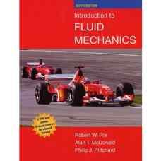 مقدمه ای بر مکانیک سیالات (فاکس، مک دونالد و پریچارد) (ویرایش ششم 2004)