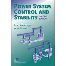پایداری و کنترل سیستم های قدرت (اندرسون و فواد) (ویرایش دوم 2002)
