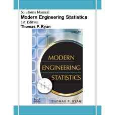 حل المسائل آمار مهندسی مدرن (رایان) (ویرایش اول 2007)