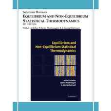 حل المسائل ترمودینامیک آماری تعادلی و غیرتعادلی (لوبلاک، مورتسان و باترونی) (ویرایش اول 2004)