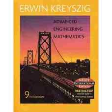 ریاضیات مهندسی پیشرفته (کریزیگ) (ویرایش نهم 2006)