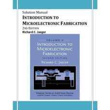 حل المسائل مقدمه ای بر ساخت ادوات میکروالکترونیک (جاگر) (ویرایش دوم 2001)