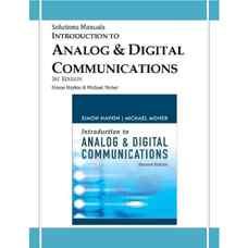 حل المسائل مقدمه ای بر مخابرات آنالوگ و دیجیتال (هیکین) (ویرایش دوم 2007)
