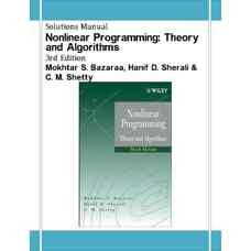 حل المسائل برنامه ریزی غیرخطی: تئوری و الگوریتم ها (بازارا، شرالی و شتی) (ویرایش سوم 2006)