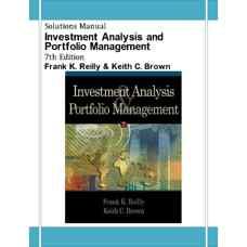 حل المسائل تحلیل سرمایه گذاری و مدیریت پورتفولیو (ریلی و براون) (ویرایش هفتم 2002)