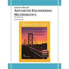 حل المسائل ریاضیات مهندسی پیشرفته (کریزیگ) (ویرایش نهم 2006)