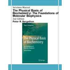 حل المسائل اصول فیزیکی بیوشیمی: مبانی بیوفیزیک مولکولی (برگدون) (ویرایش دوم 2010)