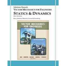 حل المسائل استاتیک (بی یر، جانستون، مازورک و کورنول) (ویرایش نهم 2010)