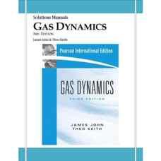 حل المسائل دینامیک گاز (جان و کیت) (ویرایش سوم 2006)