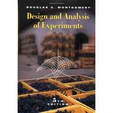 طراحی و تحلیل آزمایش ها (مونتگومری) (ویرایش پنجم 2001)