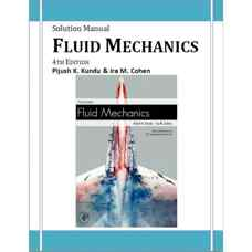 حل المسائل مکانیک سیالات (کوندو و کوهن) (ویرایش چهارم 2007)