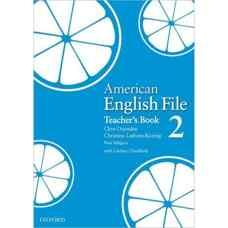 کتاب معلم American English File 2 (اوکسندن، لیتام-کونیگ و سلیگسون) (ویرایش اول 2008)