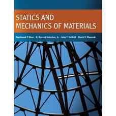 استاتیک و مقاومت مصالح (بی یر، جانستون، دی وولف و مازورک) (ویرایش اول 2010)