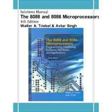 حل المسائل ریزپردازنده های 8086 و 8088 (تریبل و سینگ) (ویرایش چهارم 2002)