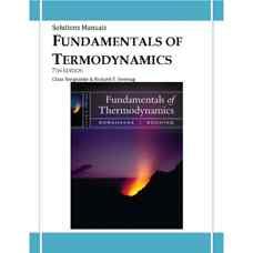 حل المسائل اصول ترمودینامیک (بورگناک و سونتاگ) (ویرایش هفتم 2009)