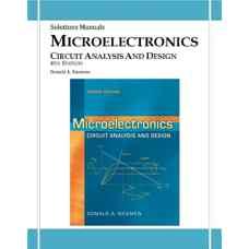 حل المسائل میکروالکترونیک: طراحی و تحلیل مدار (نیمن) (ویرایش چهارم 2009)
