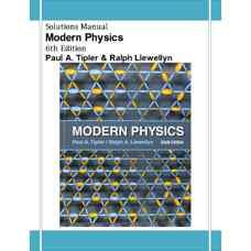 حل المسائل فیزیک مدرن (تیپلر و لولین) (ویرایش ششم 2012)