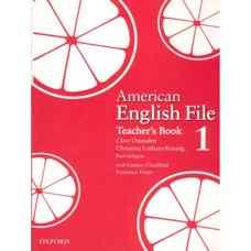کتاب معلم American English File 1 (اوکسندن، لیتام-کونیگ و سلیگسون) (ویرایش اول 2008)