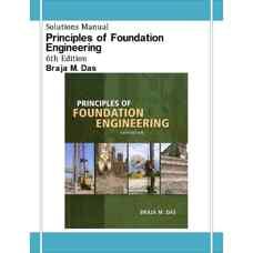 حل المسائل مبانی مهندسی پی (داس) (ویرایش ششم 2006)
