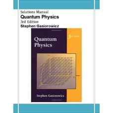 حل المسائل فیزیک کوانتومی (گاسیوروویچ) (ویرایش سوم 2003)