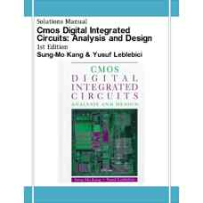 حل المسائل مدارات دیجیتال یکپارچه CMOS: تحلیل و طراحی (کانگ و لابلبیچی) (ویرایش اول 1995)