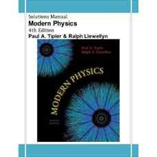 حل المسائل فیزیک مدرن (تیپلر و لولین) (ویرایش چهارم 2002)