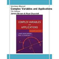 حل المسائل متغیرهای مختلط به همراه کاربرد آن ها (براون و چرچیل) (ویرایش هفتم 2003)