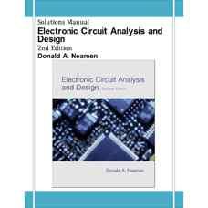 حل المسائل طراحی و تحلیل مدارهای الکترونیک (نیمن) (ویرایش دوم 2000)