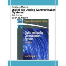 حل المسائل سیستم های مخابرات دیجیتال و آنالوگ (کوچ) (ویرایش هفتم 2007)