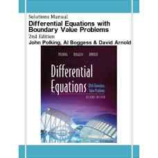حل المسائل معادلات دیفرانسیل به همراه مسائل مقدار مرزی (پولکینگ، بوگس و آرنولد) (ویرایش دوم 2005)