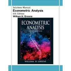 حل المسائل آنالیز اقتصادسنجی (گرین) (ویرایش ششم 2007)