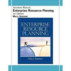 حل المسائل برنامه ریزی منابع سازمانی (سومنر) (ویرایش اول 2004)