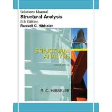 حل المسائل تحلیل سازه ها (هیبلر) (ویرایش هشتم 2011)