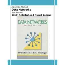 حل المسائل شبکه های داده (برتسکاس و گالاگر) (ویرایش دوم 1992)