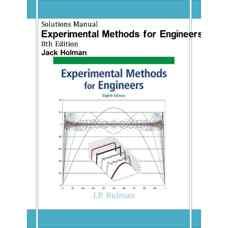 حل المسائل روش های تجربی برای مهندسین (هولمن) (ویرایش هشتم 2011)