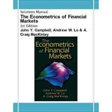 حل المسائل اقتصادسنجی بازارهای مالی (کمپل، لو و مک کینلای) (ویرایش اول 1996)
