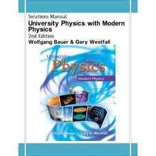 حل المسائل فیزیک دانشگاهی همراه با فیزیک مدرن (باور و وستفال) (ویرایش دوم 2013)