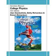 حل المسائل فیزیک دانشگاهی (جامباتیستا، ریچاردسون و ریچاردسون) (ویرایش چهارم 2012)