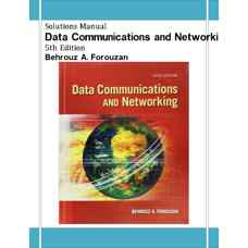 حل المسائل شبکه ها و ارتباطات داده ها (فروزان) (ویرایش پنجم 2012)