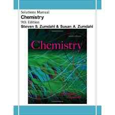 حل المسائل شیمی (زومدال و زومدال) (ویرایش نهم 2013)