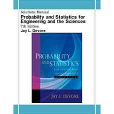 حل المسائل آمار و احتمال برای مهندسی و علوم پایه (دوور) (ویرایش هفتم 2007)