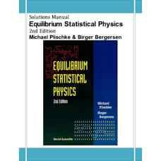 حل المسائل فیزیک آماری تعادلی (پلیشک و برگرسن) (ویرایش دوم 1994)