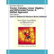 حل المسائل حساب دیفرانسیل و انتگرال برداری، جبر خطی و فرم های دیفرانسیلی: رویکردی یکپارچه (هابارد و هابارد) (ویرایش دوم 2001)