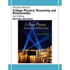 حل المسائل فیزیک دانشگاهی: استدلال و رابطه ها (جوردانو) (ویرایش دوم 2012)