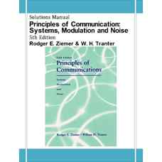 حل المسائل اصول مخابرات: سیستم ها، مدولاسیون و نویز (زیمر و ترنتر) (ویرایش پنجم 2001)