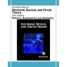 حل المسائل نظریه قطعات و مدارهای الکترونیک (بویل اشتاد و نشلسکی) (ویرایش دهم 2008)