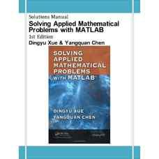 حل المسائل حل مسائل ریاضیات کاربردی با MATLAB (ژو و چن) (ویرایش اول 2008)
