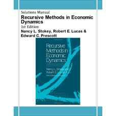 حل المسائل روش های بازگشتی در دینامیک اقتصادی (استوکی، لوکاس و پریسکات) (ویرایش اول 1989)